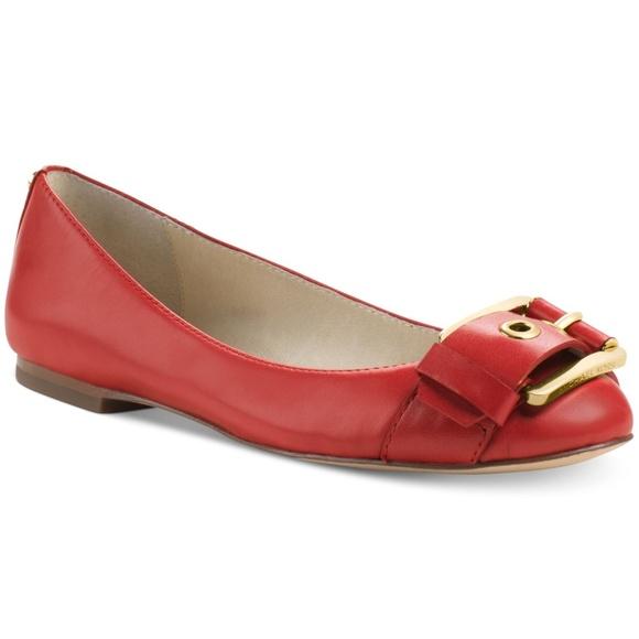 684cce46c9 MICHAEL Michael Kors Shoes | Calder Buckle Toe Ballet Flat | Poshmark